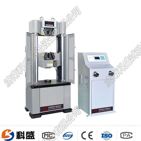 兰州WE-100B(D)液晶数显式液压万能试验机