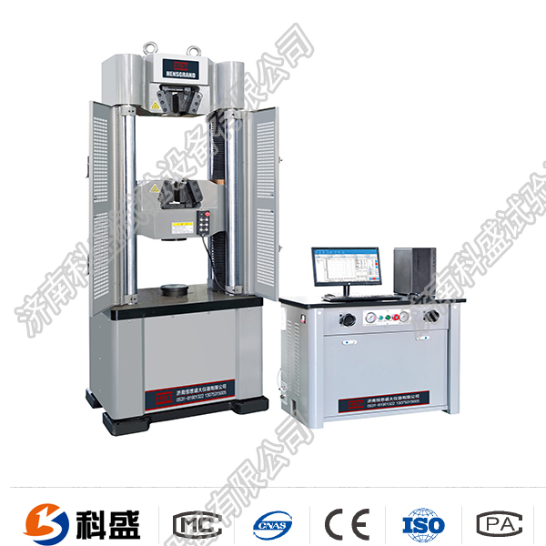 开远市WEW-100D(B、C)/10吨/100 Kn微机屏显式液压万能试验机