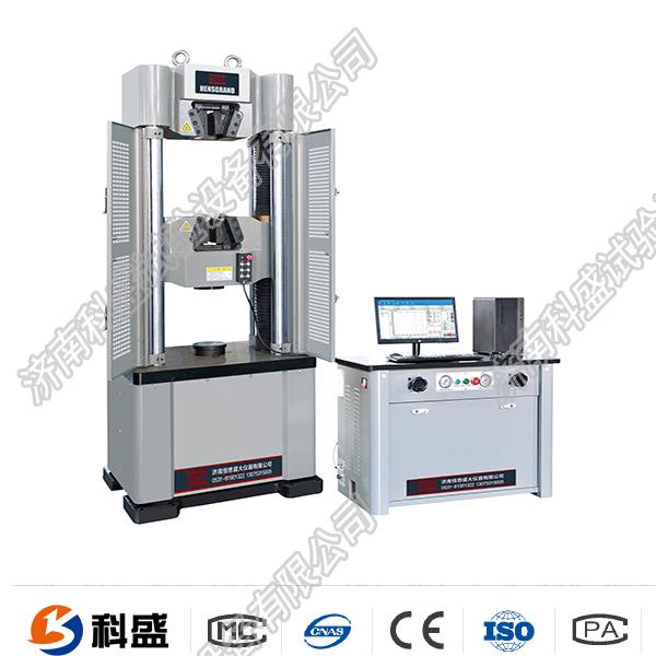 开远市WEW-600D(B、C)/60吨/600Kn微机屏显式液压万能试验机