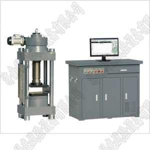 宜兴市黑龙江300吨压力试验机 微机控制全自动抗压强度试验机YAW-3000